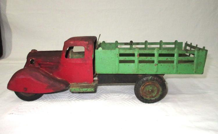 Steel Toy Stake Truck