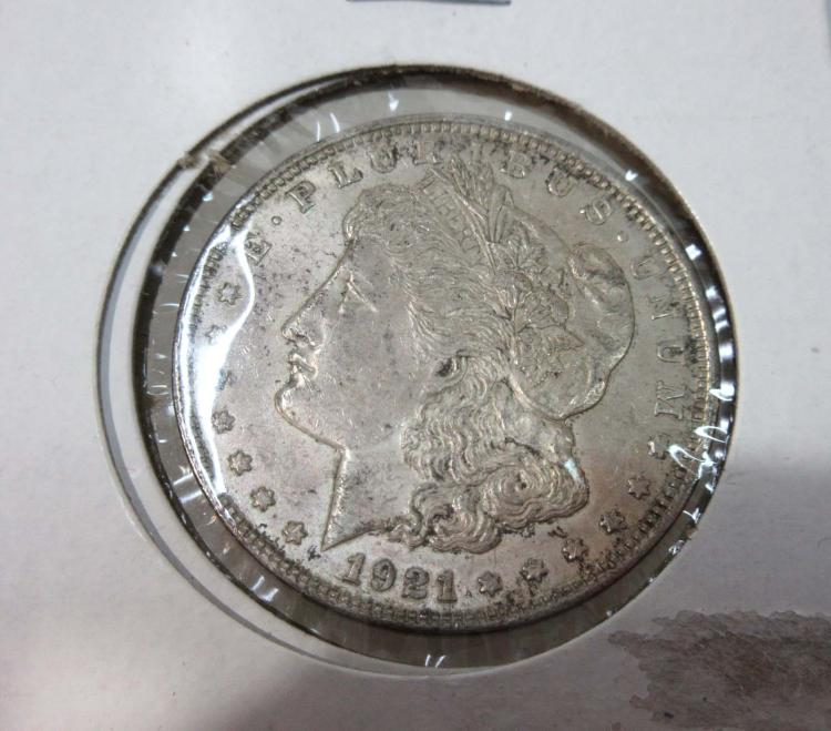 1921-P US Silver Dollar