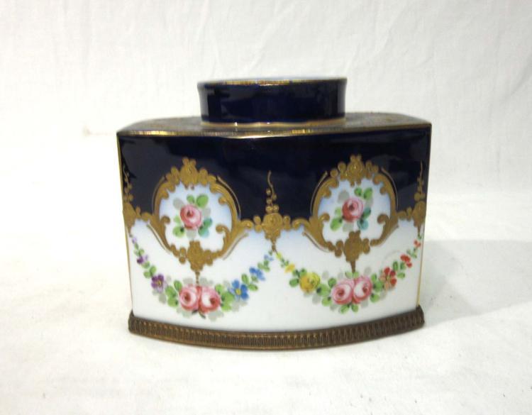 French Porcelain Jar