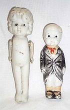 2 Japan Bisque Dolls