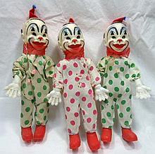 3 Clown Dolls