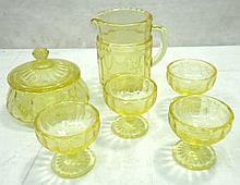 Childs Depression Glass Set