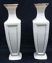 Pr. Lenox Vases