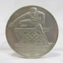 Silver 1972 Olympic Medal