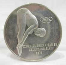 Silver 1971 Olympic Medal