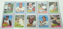 10 Topps 1965 Baseball Cards