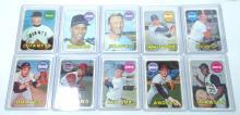 10 Topps 1969 Baseball Cards