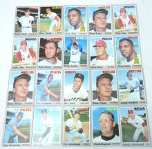 20 Topps 1970 Baseball Cards