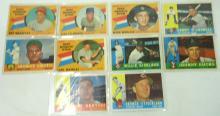 10 Topps 1960 Baseball Cards