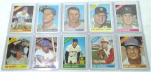 10 Topps 1966 Baseball Cards