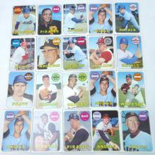 20 Topps 1969 Baseball Cards