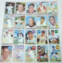 20 Topps 1969 & 1970 Baseball Cards