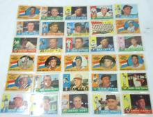 30 Topps 1960 Baseball Cards