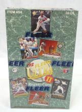 Sealed Box 1992 Fleer Ultra Baseball Cards