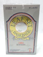 Sealed Box 1992 Leaf Baseball Cards