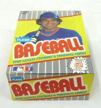 Full Box 1989 Fleer Baseball Cards