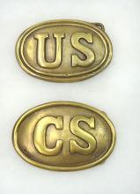 Modern U.S. & C.S. Civil War Belt Buckles