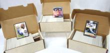 3 Sets 1992 Score Baseball Cards
