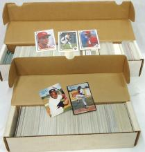 2 Boxes Mint 1987 - 91 Baseball Cards