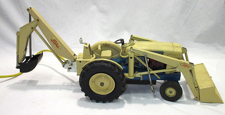 Ford Backhoe Controls : Remote control ford tractor