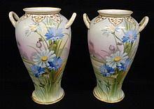 Pr. H.P. Nippon Vases