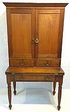 Early Country Walnut Desk