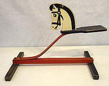 Child's Toy Horse