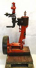 Early Vertical Steam Engine