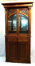 Oak Regina Music Box Cabinet