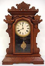 Walnut Kitchen Clock