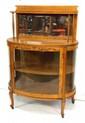 Oak Crystal Cabinet