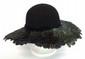 Ladies Feather Hat