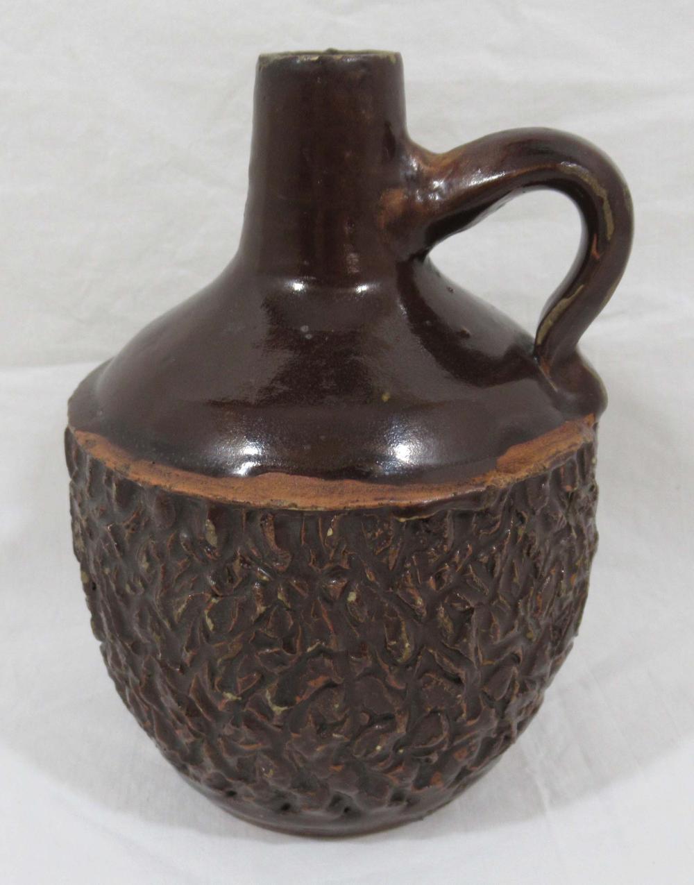 Evans Pottery Syrup Jug