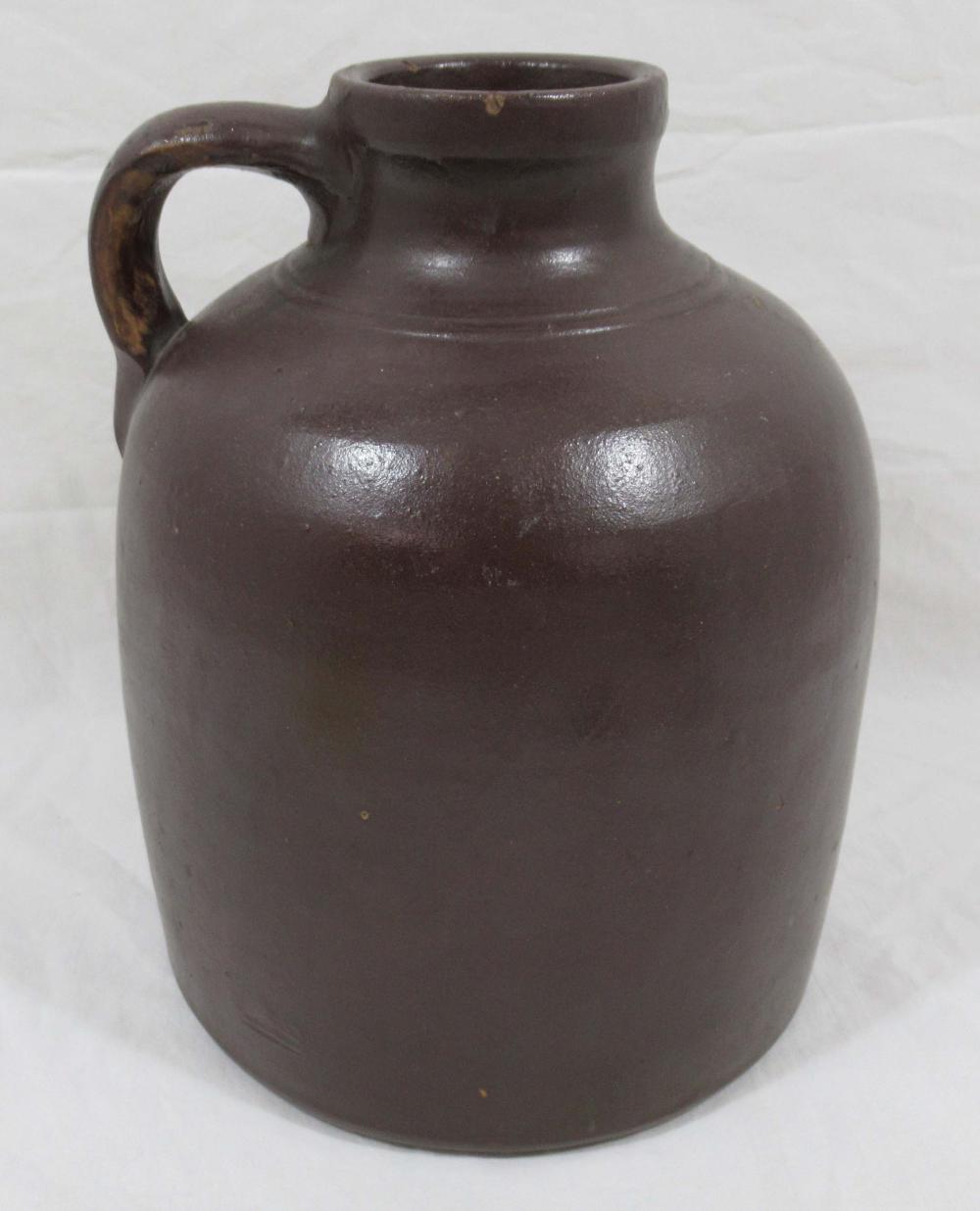 Evans Pottery Lg. Mouth Jug