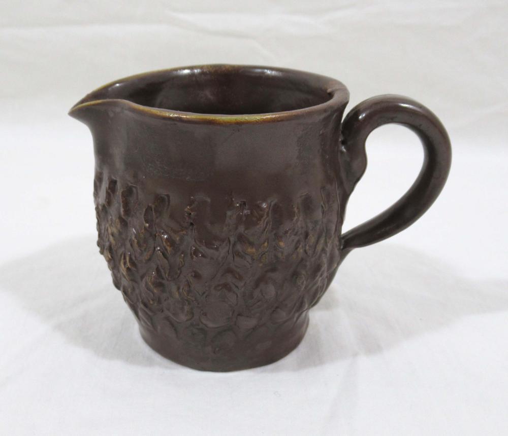 Evans Pottery Cream Pitcher