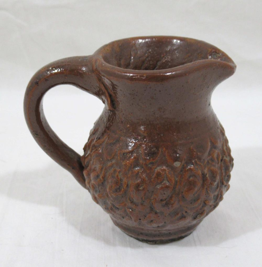 Evans Pottery Miniature Pitcher