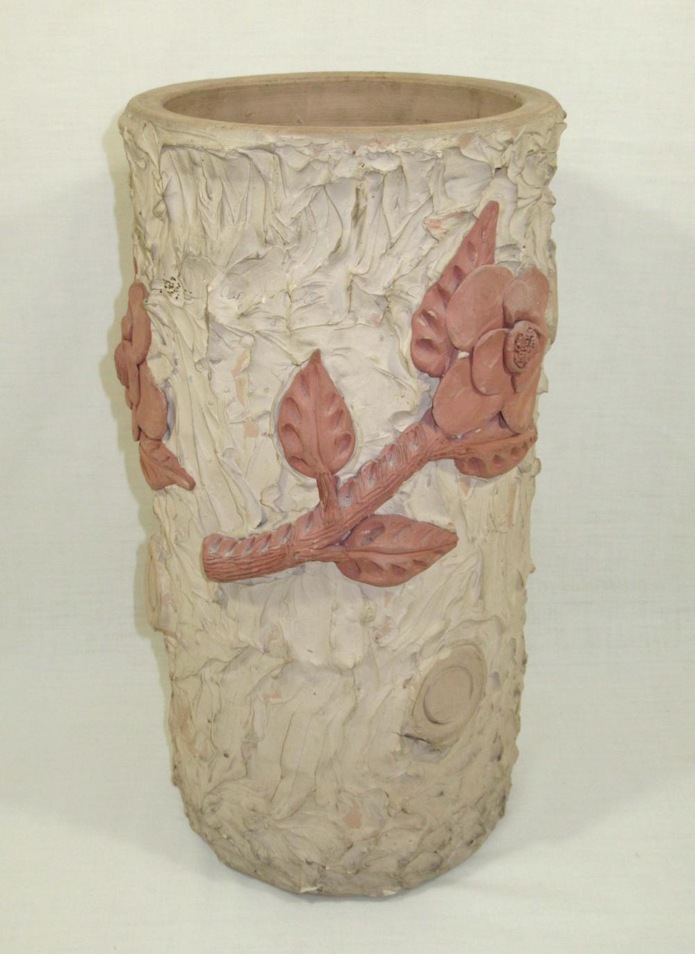 Evans Pottery Umbrella Stand