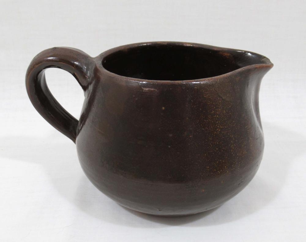 Evans Pottery Squat Pitcher