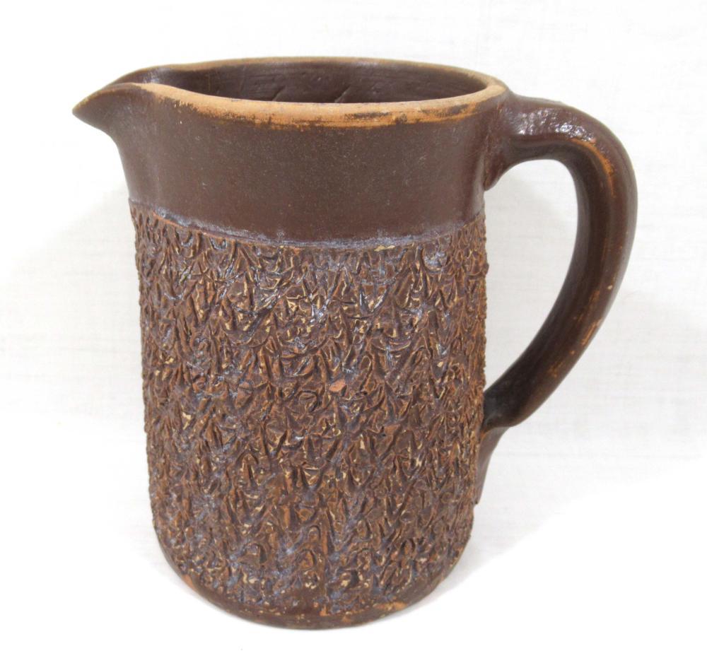 Evans Pottery Pitcher