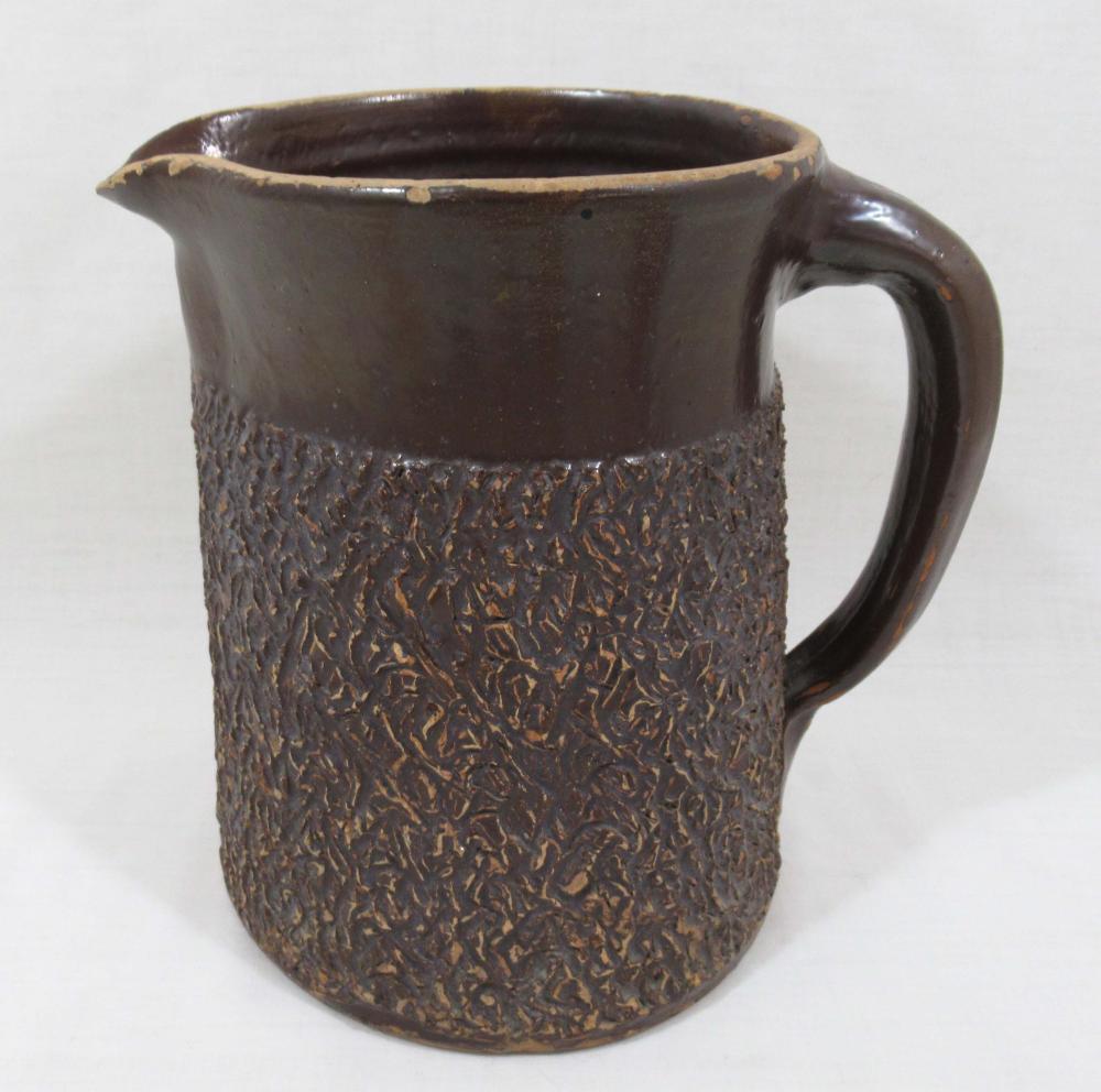 Evans Pottery Lg. Pitcher