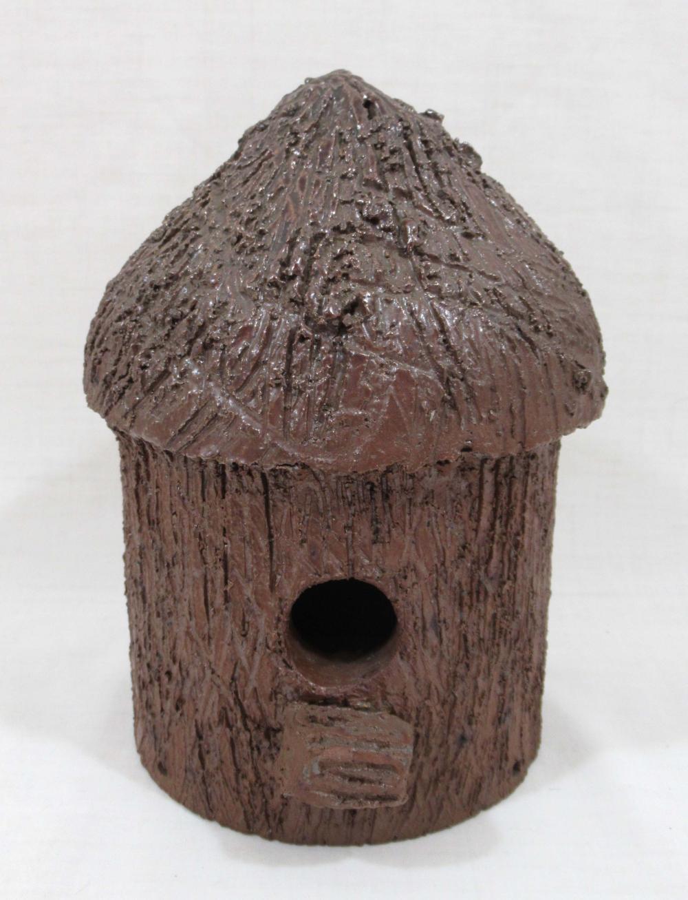 Evans Pottery Birdhouse