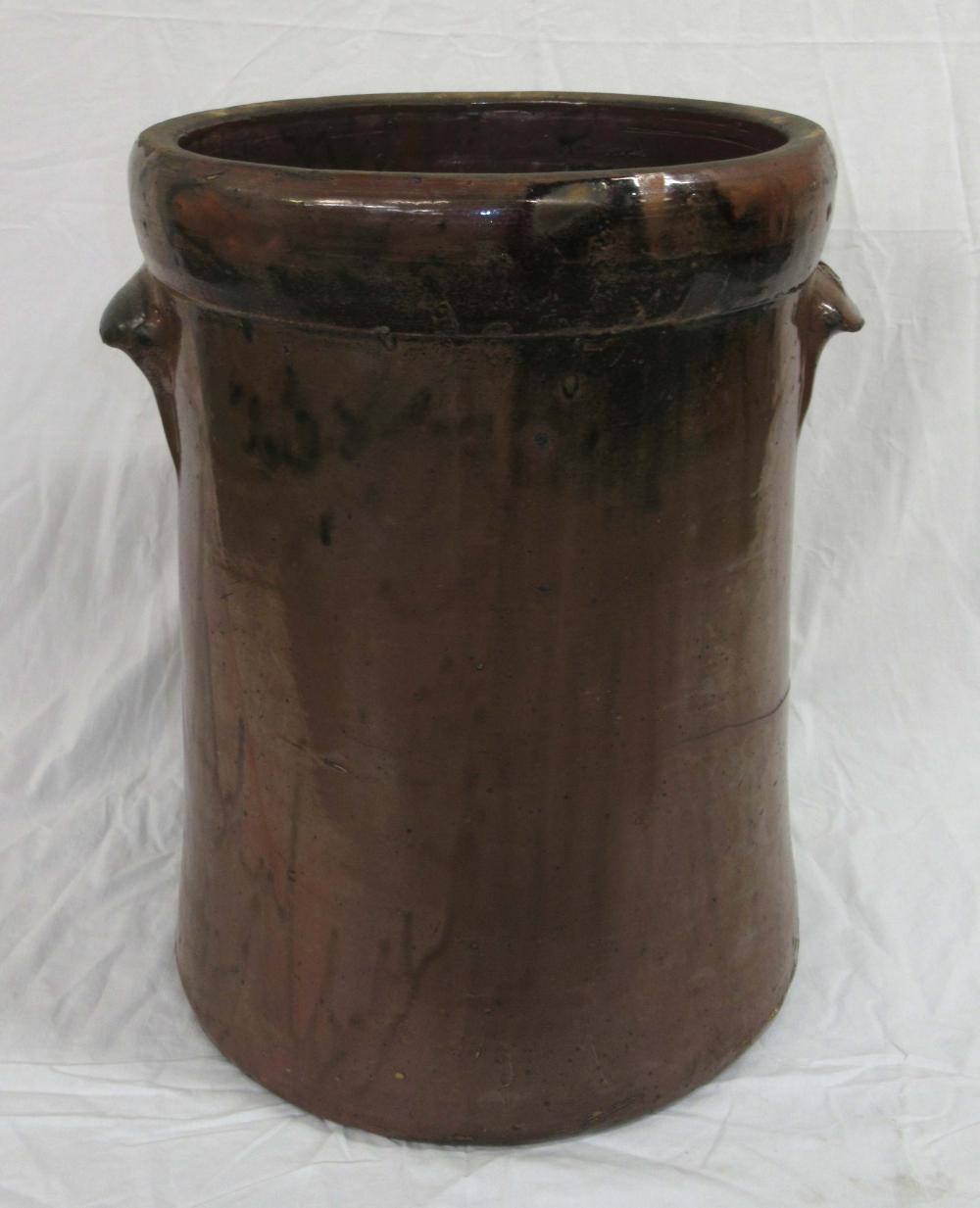 Evans Pottery 10 Gal. Crock