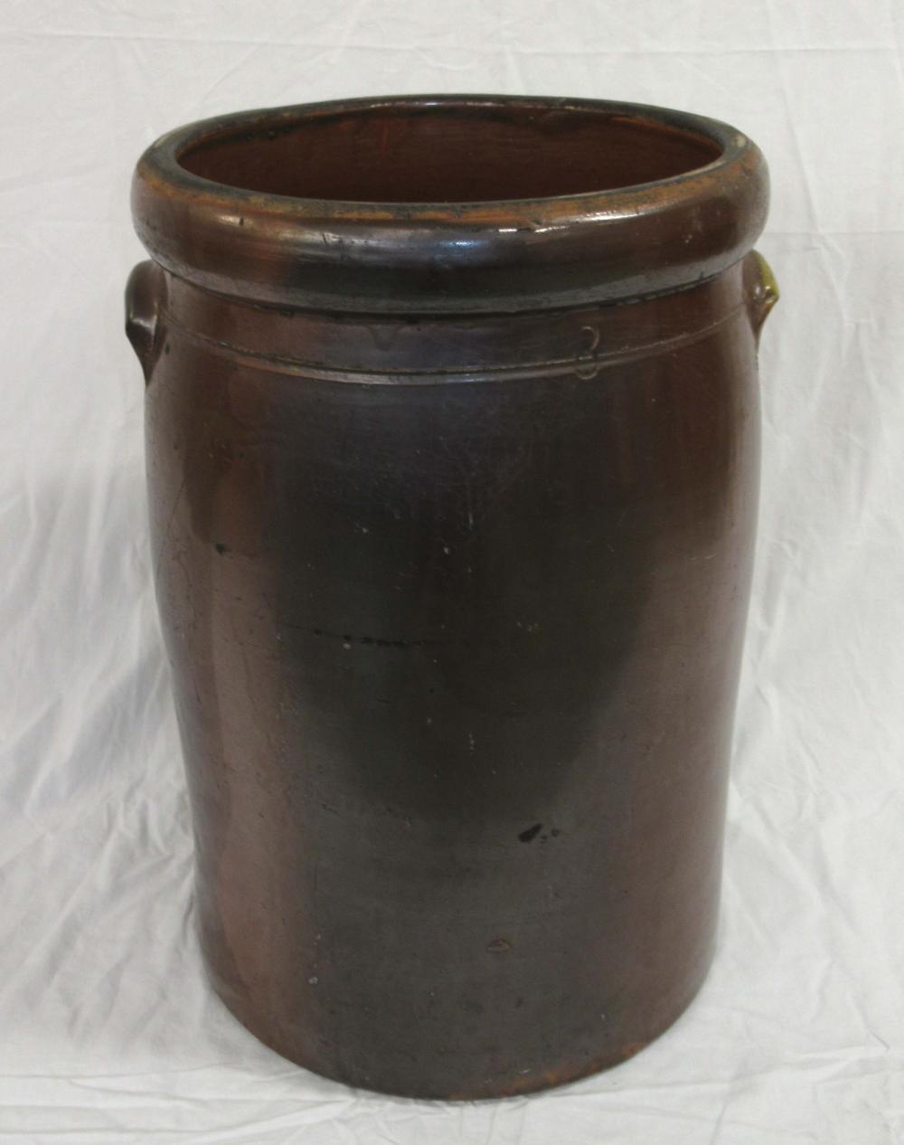 Evans Pottery 8 Gal. Crock