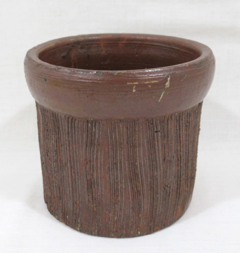 Evans Pottery Grease, Butter, or Salt Crock