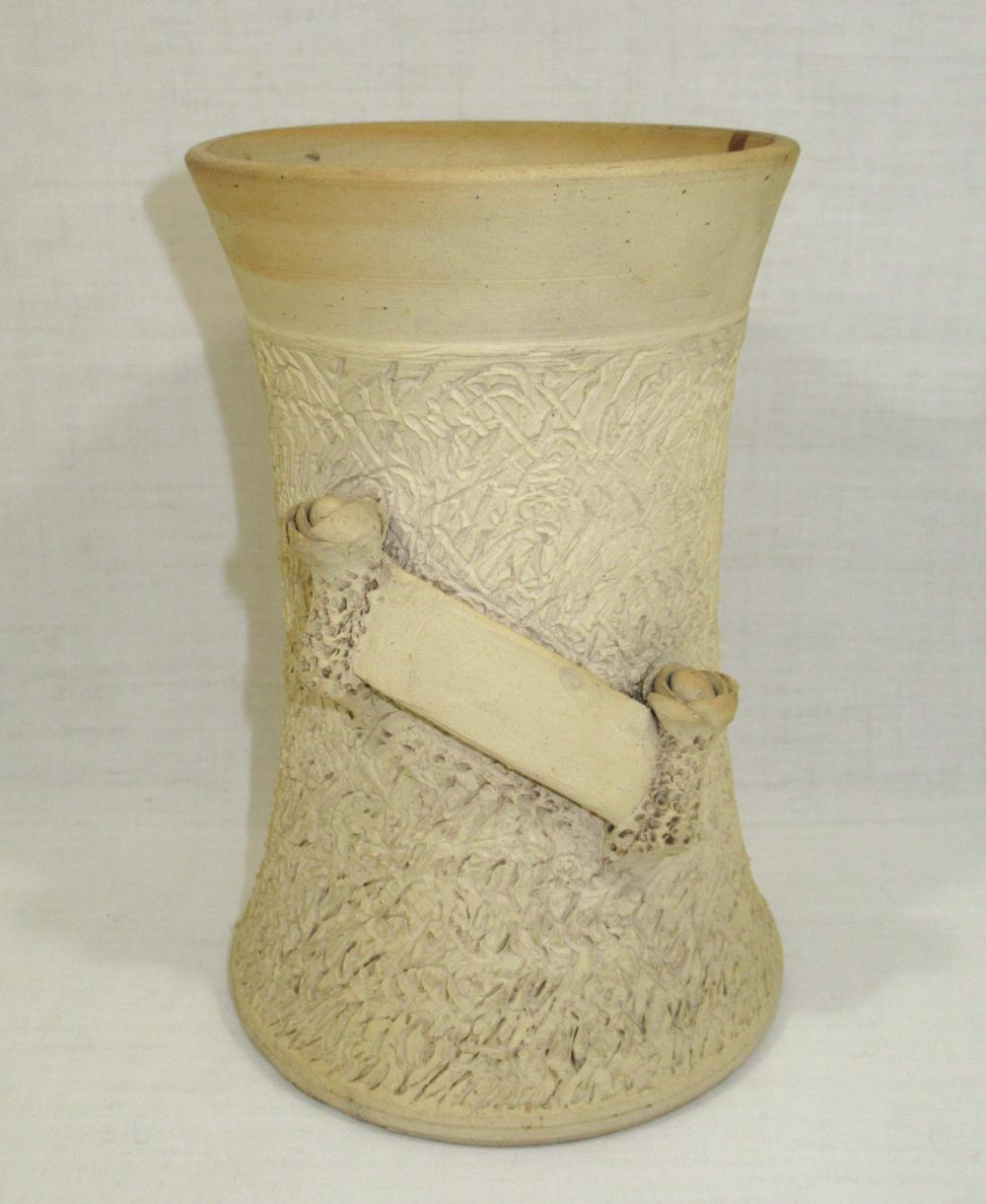 Evans Pottery Decorated Vase