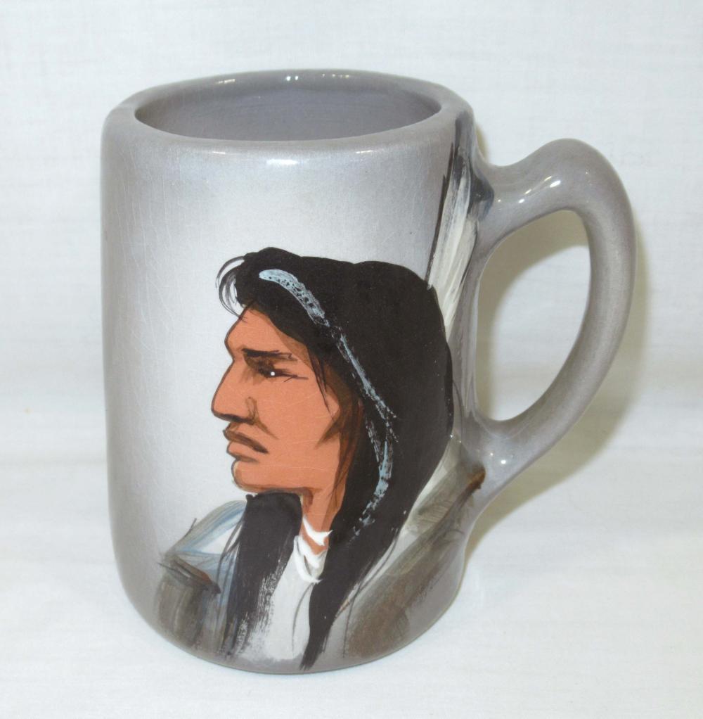 Rick Wisecarver Pottery Mug