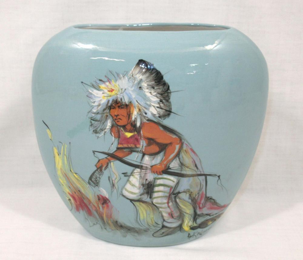 Rick Wisecarver Pottery Vase