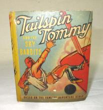 1938 Tailspin Tommy and the Sky Bandits Book