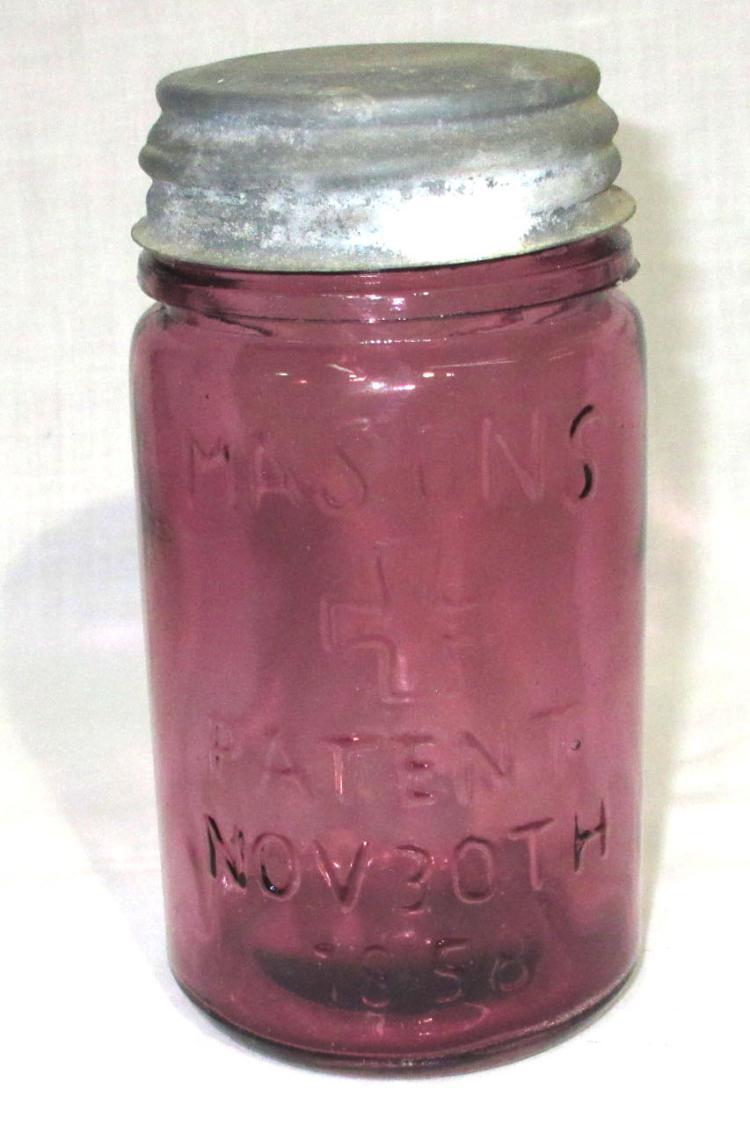 Modern Mason 39 S 1858 Fruit Jar