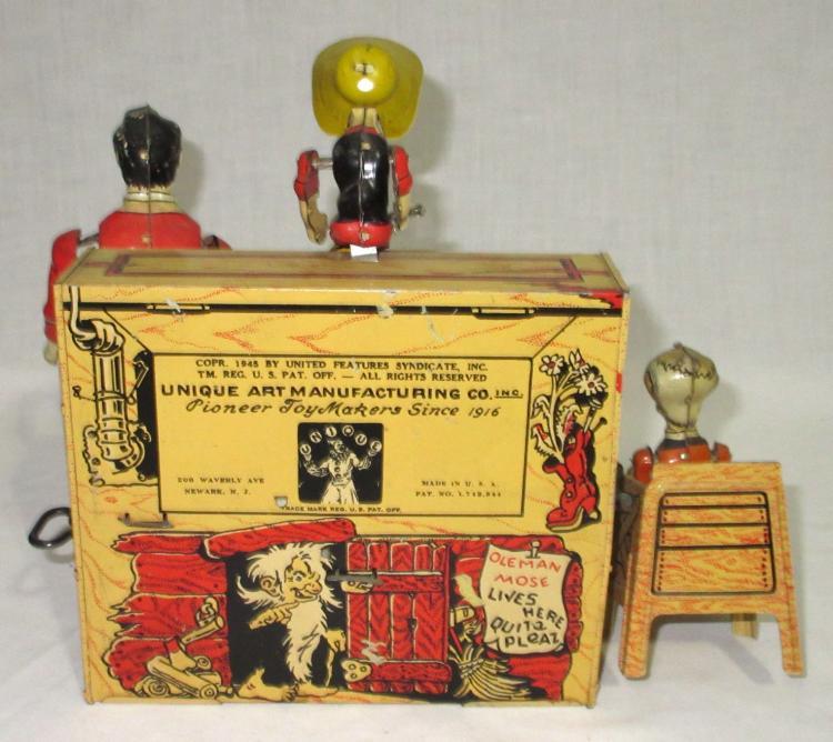 Dog Patch Tin Toy